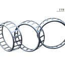 Cage of tapered rollers bearing
